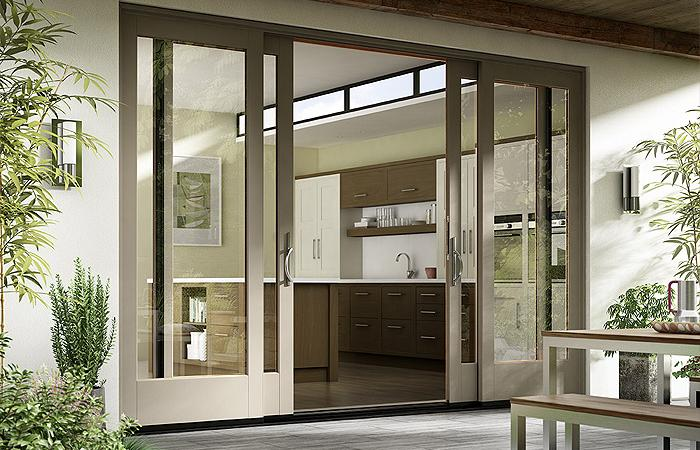 patio doors essence series wood sliding patio door DODENBL