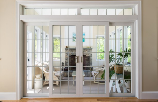 patio doors harvey vinyl patio door with transom OSXFVQH