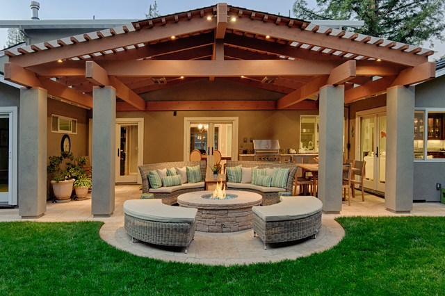 patio ideas covered patio traditional-patio LFWZKMM