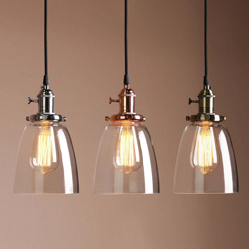 pendant light shades vintage industrial cafe glass brass chrome pendant lamp shade light fixture MWQKBDL