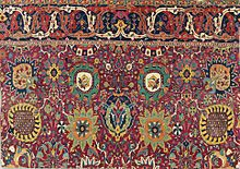 persian carpets safavid kerman u0027vaseu0027 carpet fragment, southeast persia, early 17th century PNXBNCB