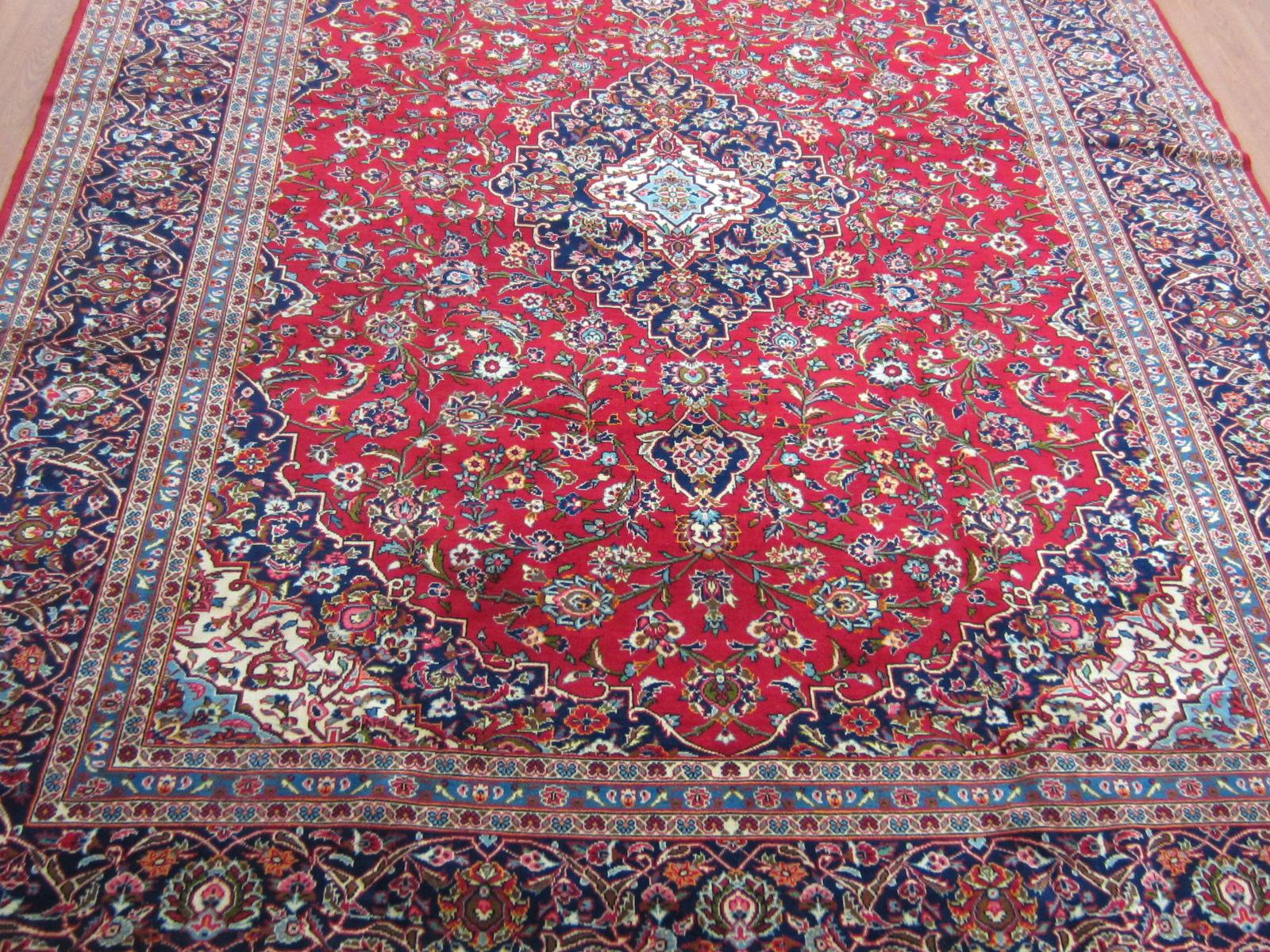persian rugs semi-antique kashan persian carpet DRHRDMB