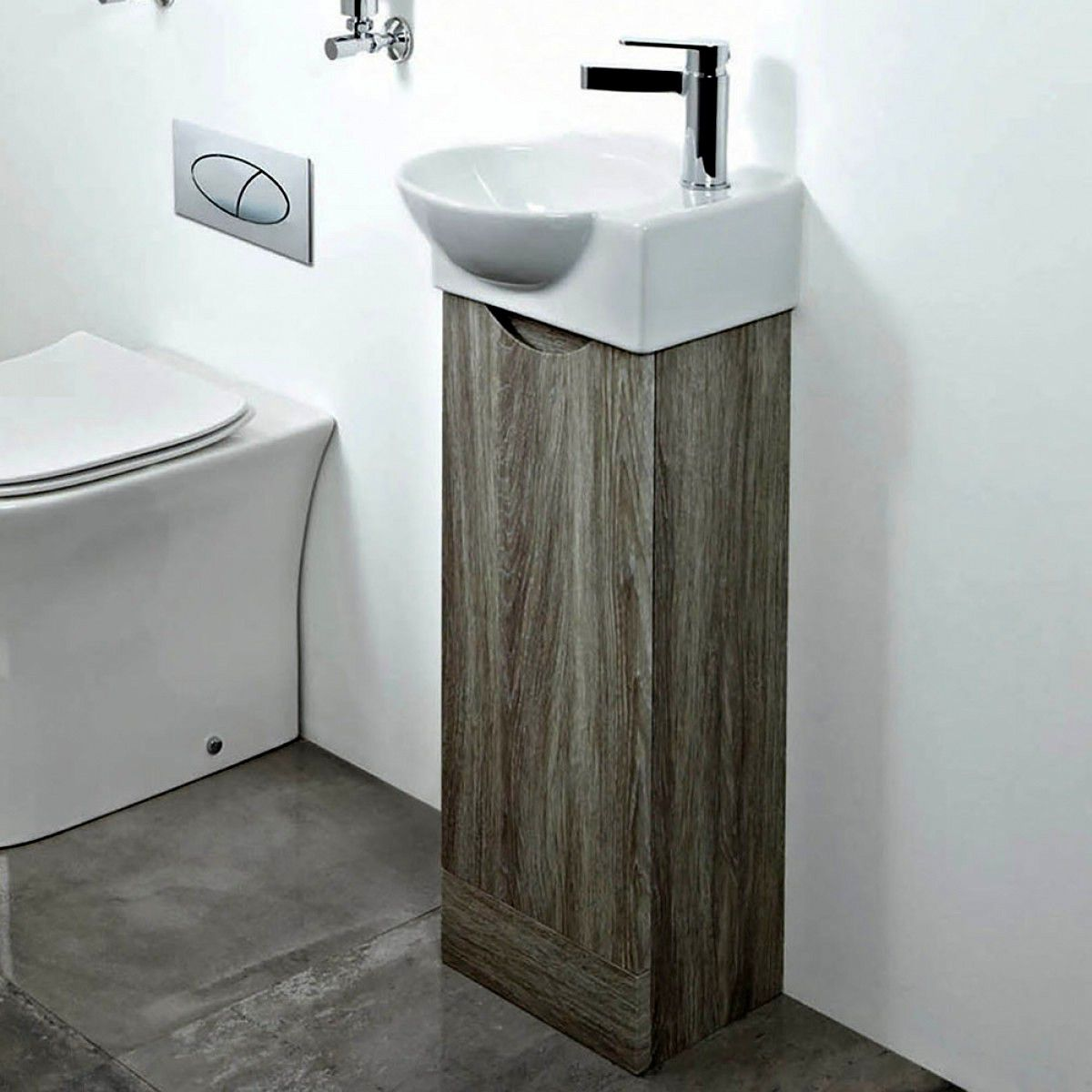 A Vanity Unit for a Modern and Well-Equipped Bathroom