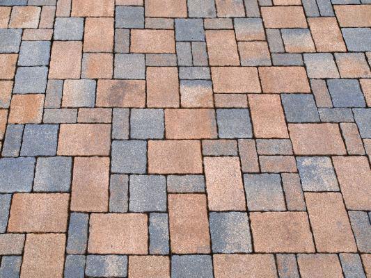 photo 4 types of paving stones patio LUWHCAK