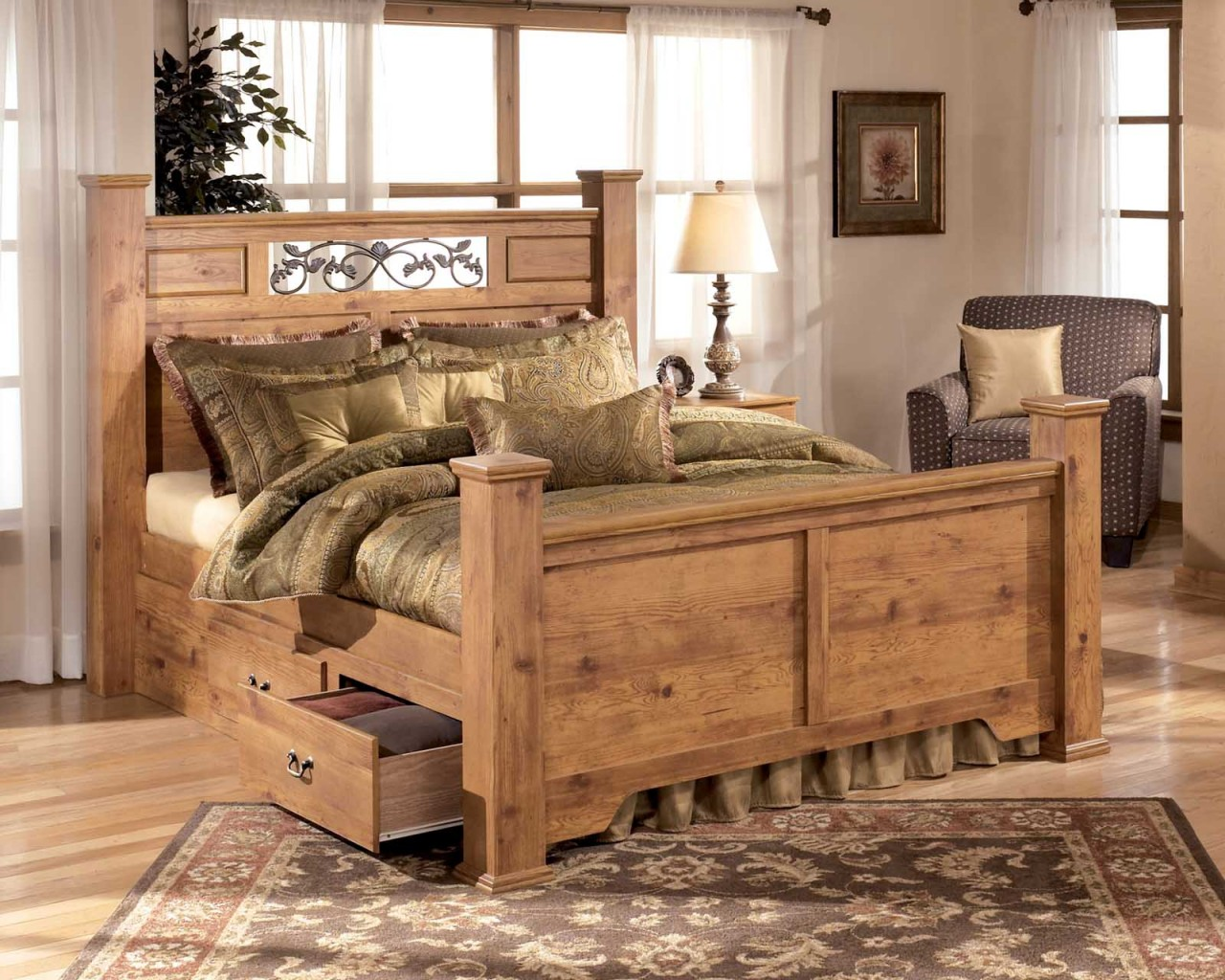 pine bedroom furniture set pine bedroom furniture for that classic country look BLFAGPT