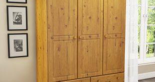 pine wardrobes hamilton 3 door 4 drawer wardrobe in pine GRASTRH