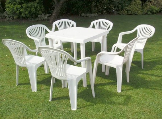 plastic garden table plastic garden furniture smaller sets are for lesser price and single WKNVLUV