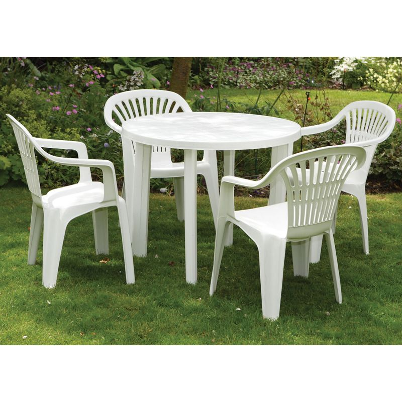 plastic garden table plastic patio table and chairs PNBSURO
