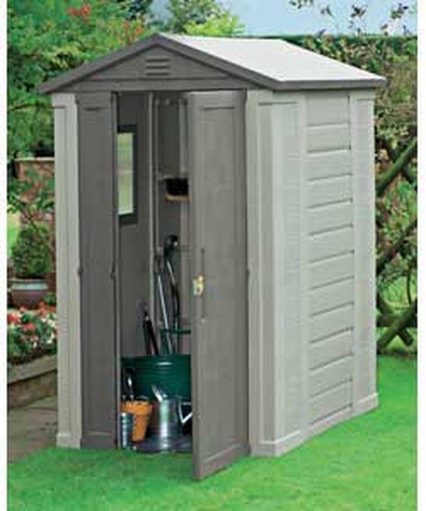 plastic sheds erection of plastic garden shed - garages - sheds job in LXPHRAT