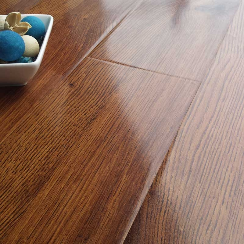 prestige gloss royal oak 8mm v-groove laminate flooring GVWNBYX