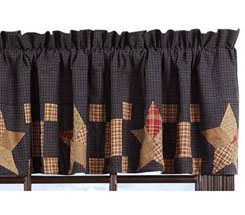 primitive curtains straight valances CMGNULR