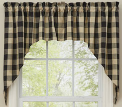 primitive curtains swags EIUZDPV