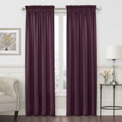 purple curtains u0026 drapes for window - jcpenney BMTJVES