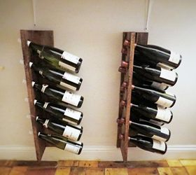 quick easy inexpensive diy wine racks, dining room ideas, diy, storage GHDDWUV