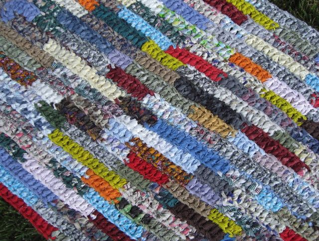 rag rug designs crochet rag rug rectangle | crochet rectangle rag rug pattern | ROEMYNB