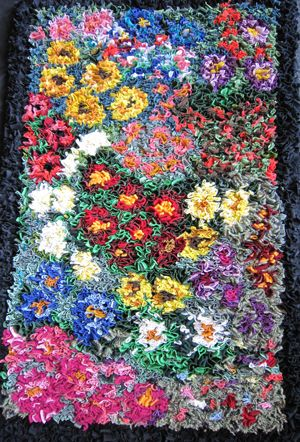 rag rug designs discover thousands of images about proddy flower rag rug LZBRSQY