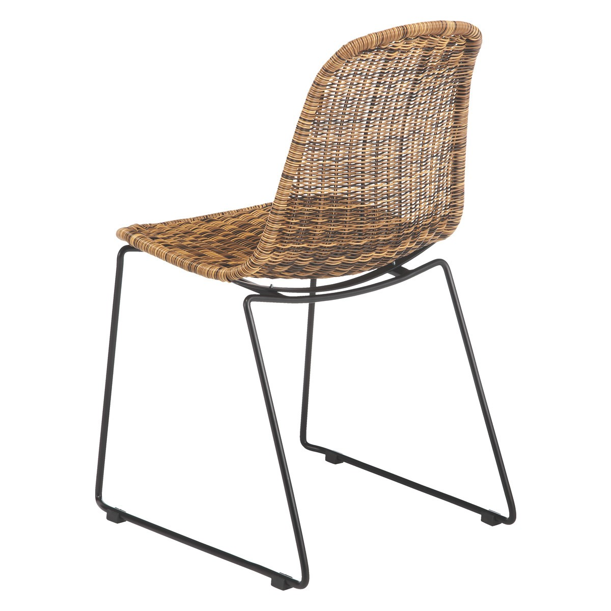 rattan dining chairs mickey synthetic rattan dining chair | buy now at habitat uk UYHICYN