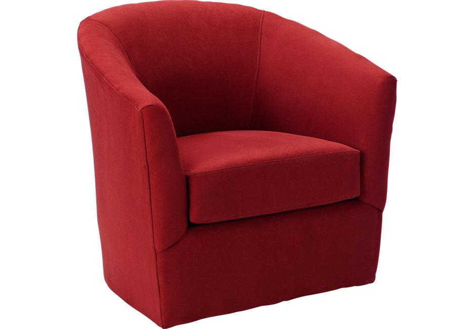 red chair brynn cardinal swivel chair GNESMTQ