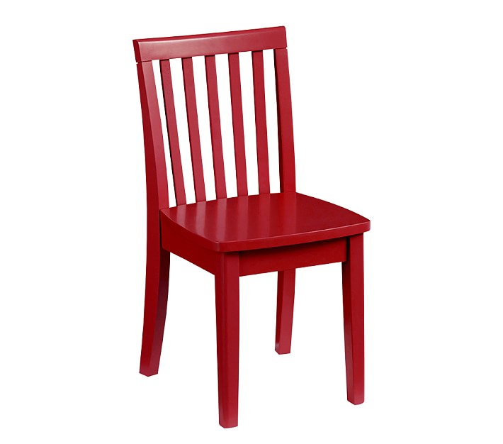 red chair carolina kid chair, retro red | pottery barn kids FNHAUQS