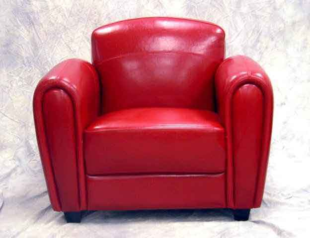 red chair front - e.commerce demo site RAFDQAY