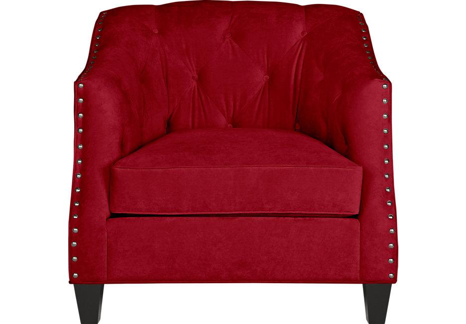 red chair sofia vergara monaco court scarlet chair - chairs (red) LIJFGCD