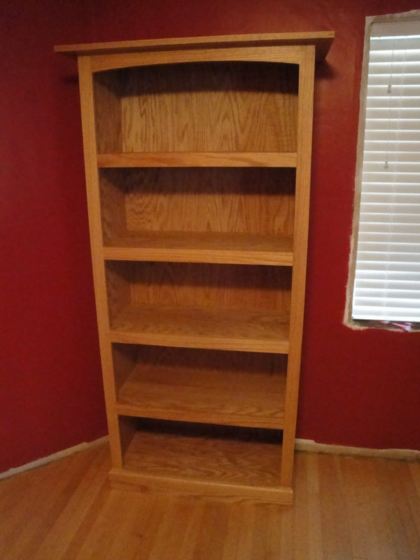 red oak bookcase - billyu0027s little bench JBRBDNT