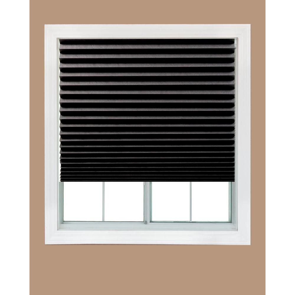 redi shade black out paper window shade - 48 in. w DLPKEQM