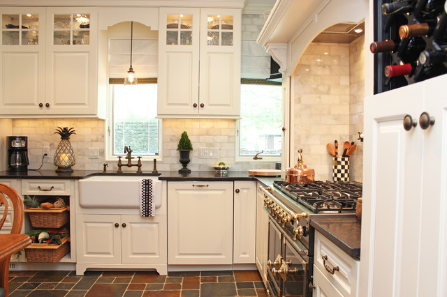 reface kitchen cabinets custom cabinet refacing, maplewood, nj traditional-kitchen WEHULUI