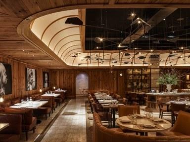 restaurant interior design leuca, in brooklynu0027s william vale hote. the studio munge-designed restaurant XUIMPCV