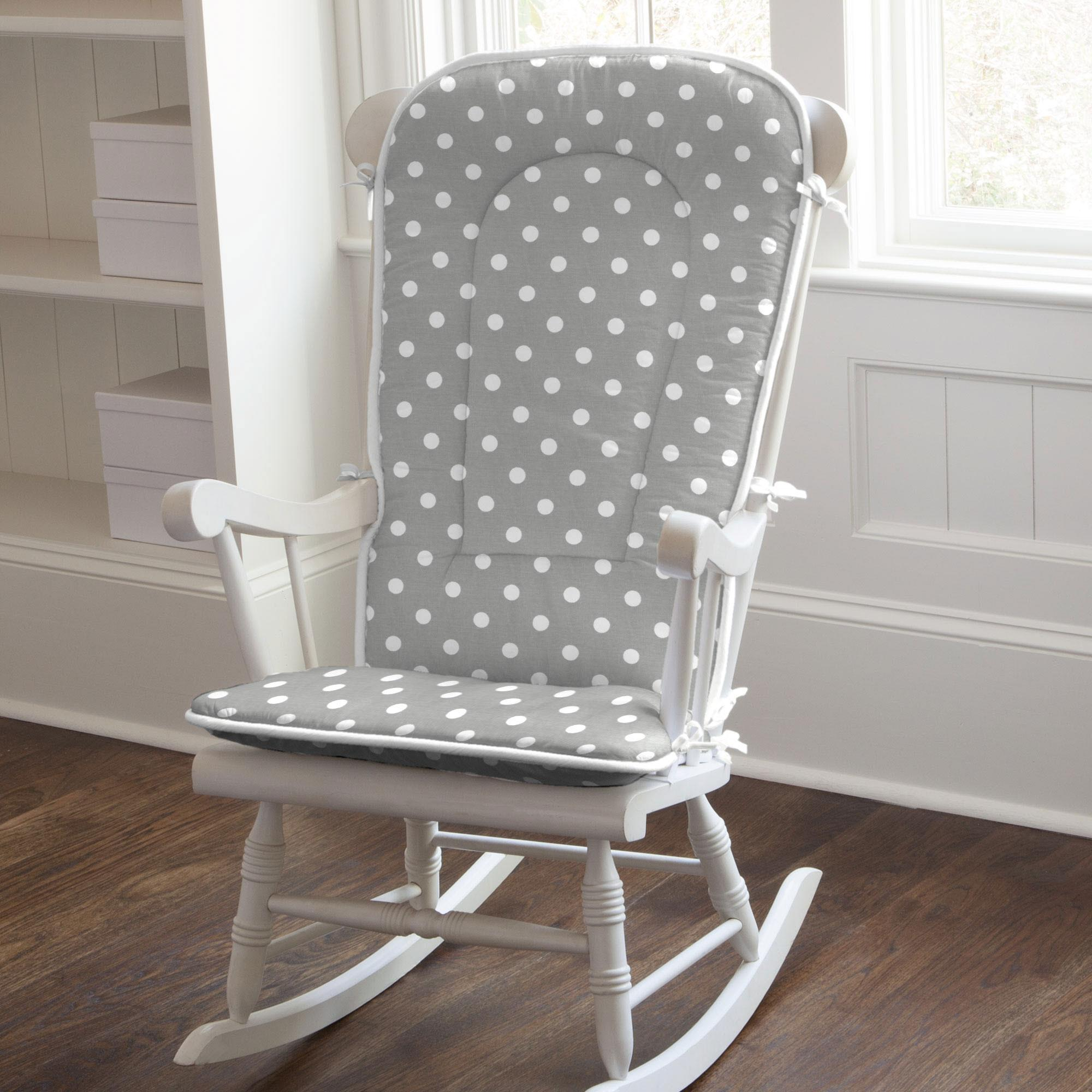 Rocking Chair Cushions For Added Comfort of Rocking
