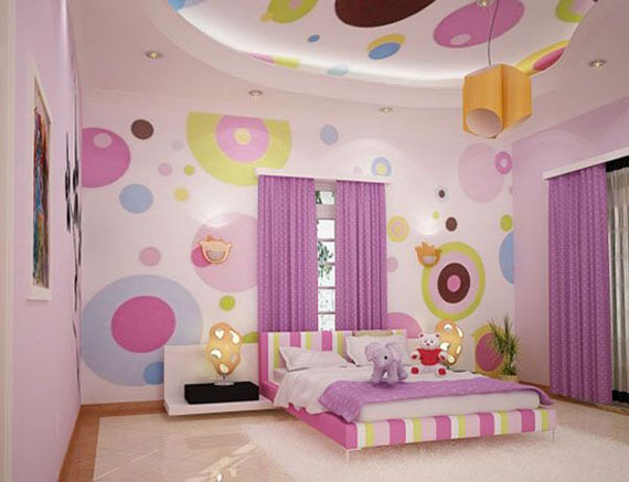 room decorations for girls fete31 colorful girls rooms design u0026 decorating ideas (44 pictures) RXGSPLM