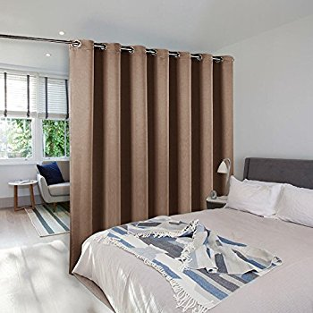 room divider curtain screen partitions - nicetown blackout room divider TLHMXGV