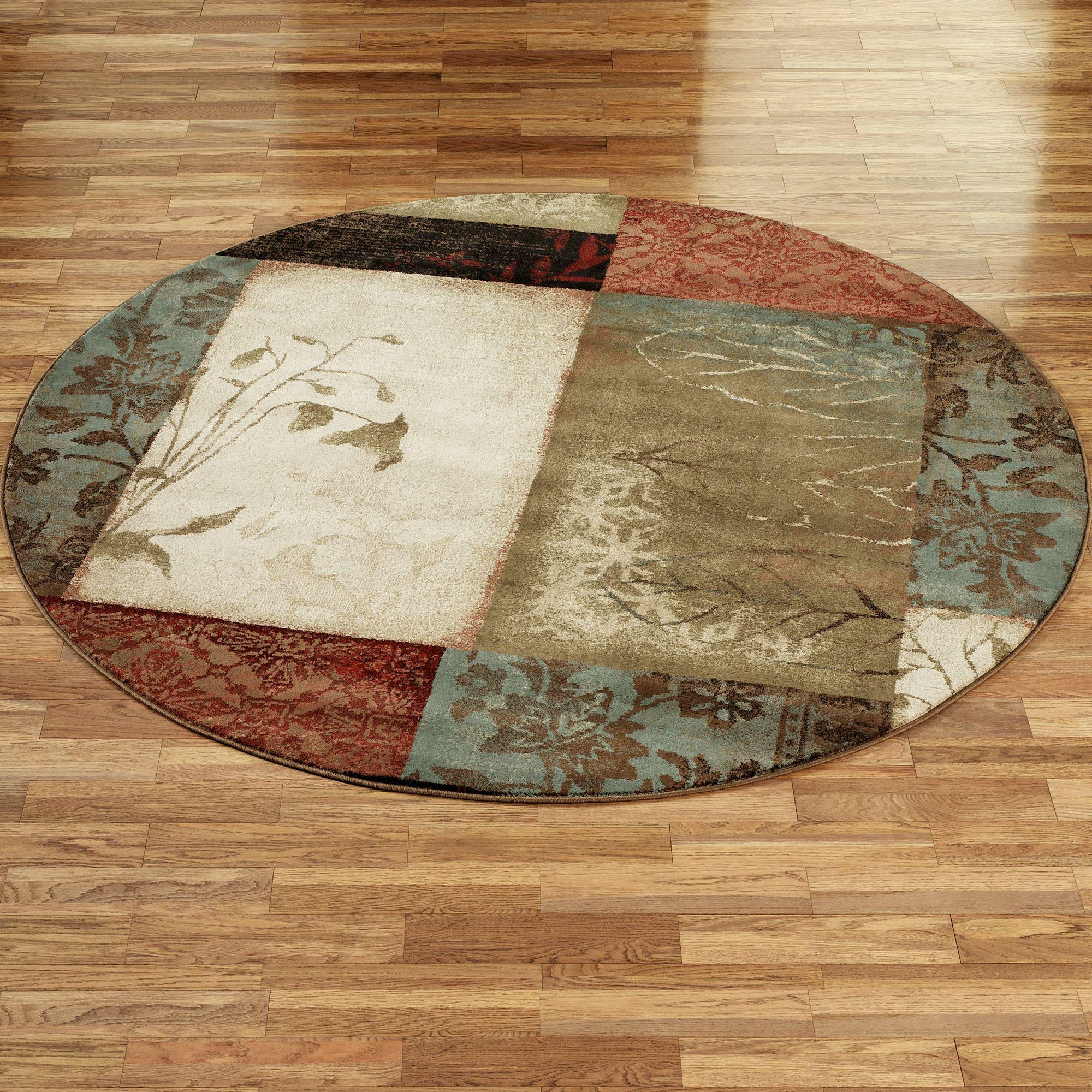 round area rugs impression leaf round rug XPQQFII