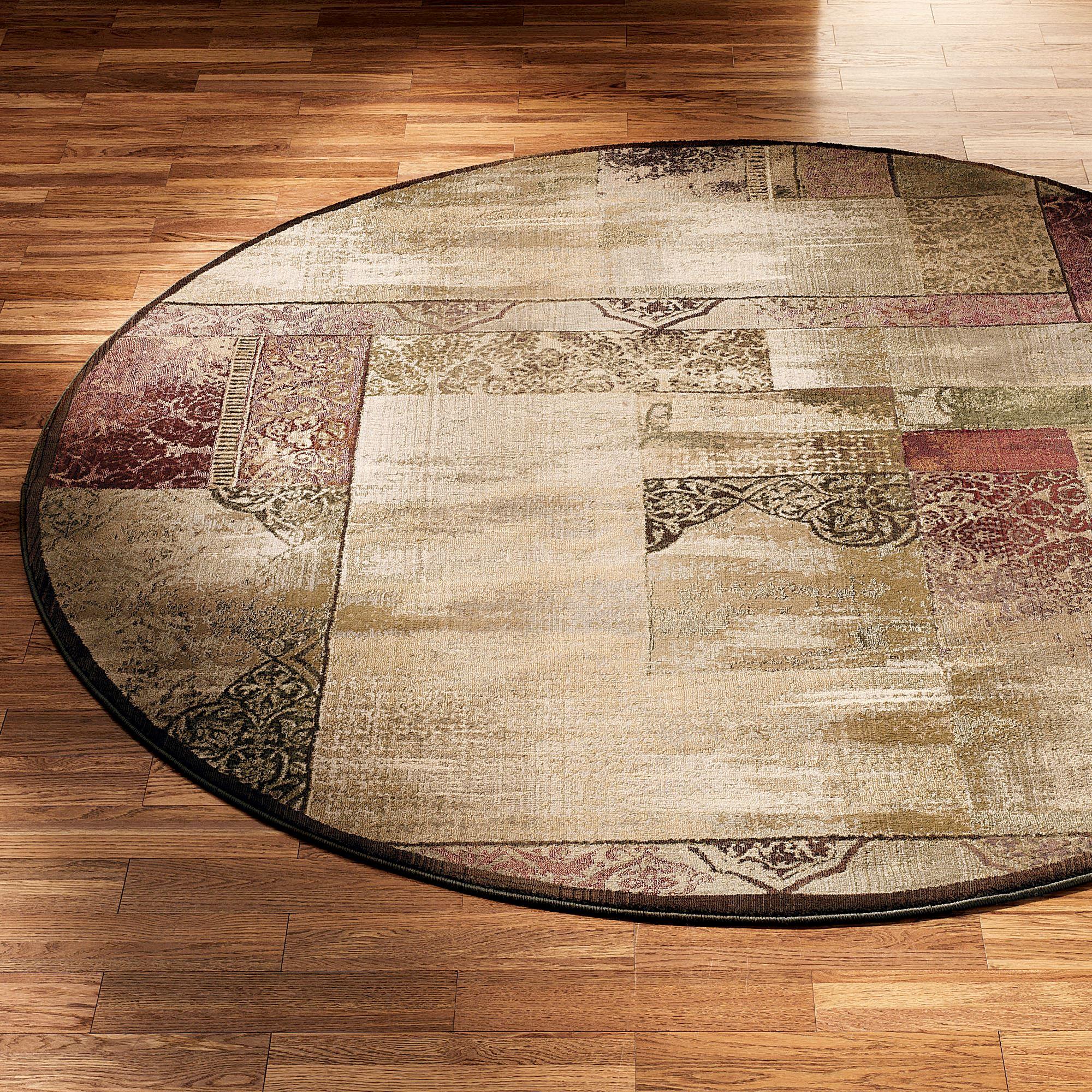 round area rugs ornate block round rug LOKYMUJ