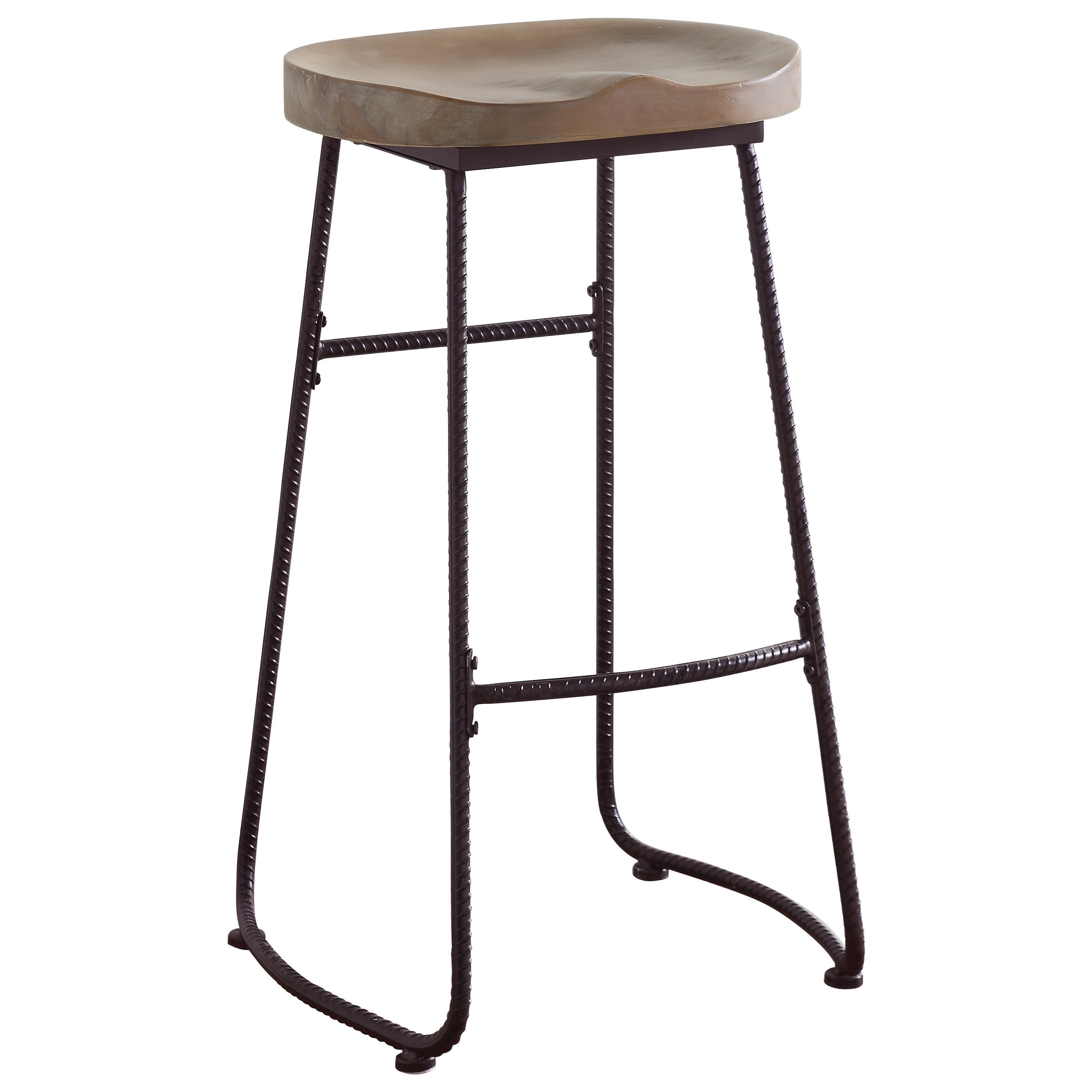 rustic bar stools dining chairs and bar stools rustic bar stool with saddle seat OKOGDQN