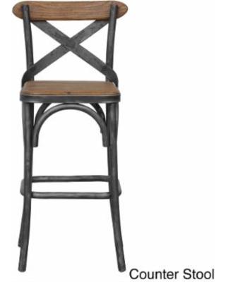 rustic bar stools dixon rustic bar stool OEUQIZT