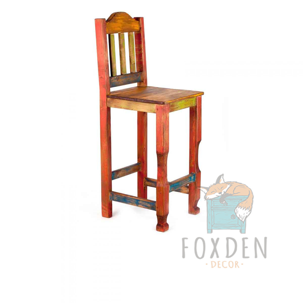 rustic bar stools ... rustic bar stool. fiesta YRUWIWK
