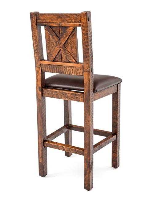 rustic bar stools rustic bar stool TMRVPOJ