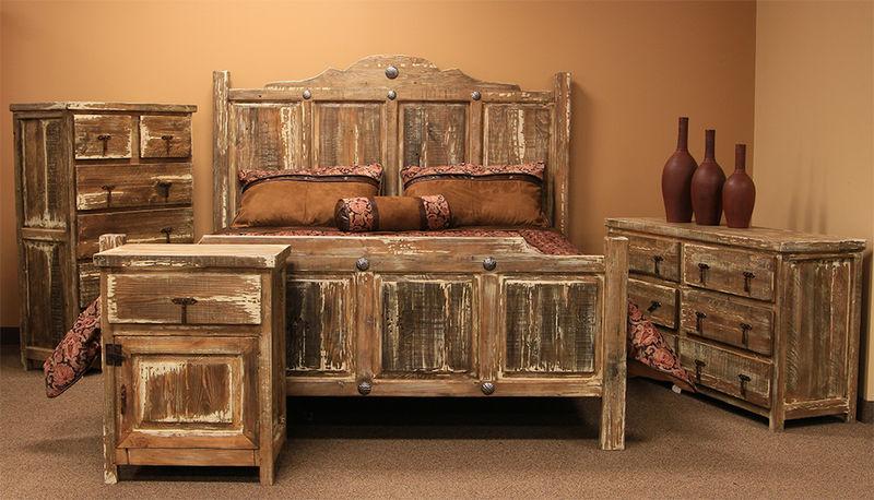 rustic furniture minimized white wash rustic bedroom set GVPQPTA
