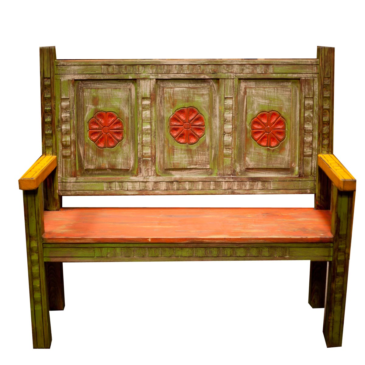 rustic mexican furniture creative painted moreno s KECHNXE