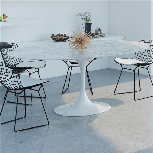 Marble Dining Table for Timeless Elegance
