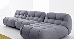 sexy modular sofa with extra deep tufting ZYINDEP