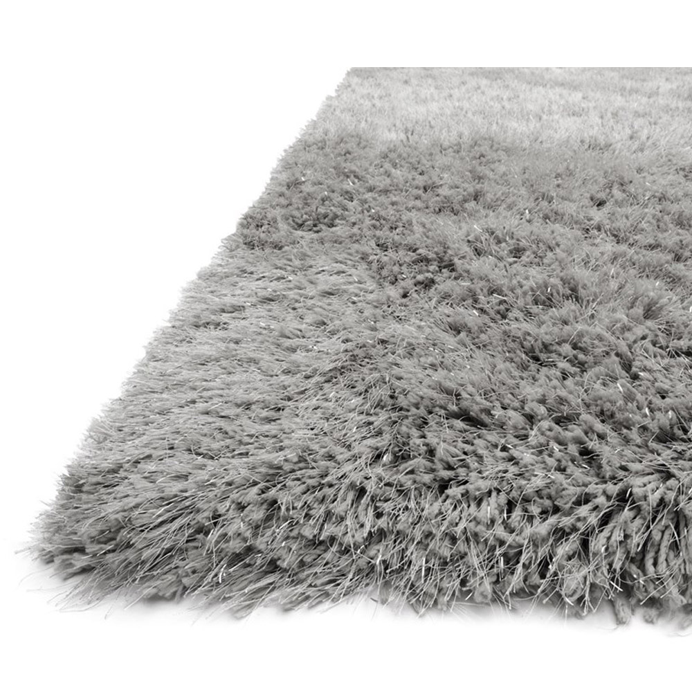 shag area rugs ... loloi celeste shag area rug - grey rug - microfiber KJYOTGU
