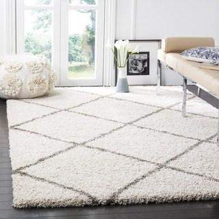 shag area rugs safavieh hudson shag ivory/ grey rug (10u0027 x ... DHTWJCP