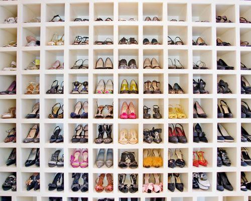 shoe closet example of a trendy womenu0027s closet design in dc metro with ZDDQVQK