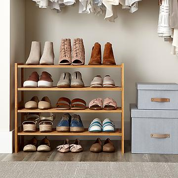 shoe closet racks u0026 shelves. hanging shoe rack IIVDVPO