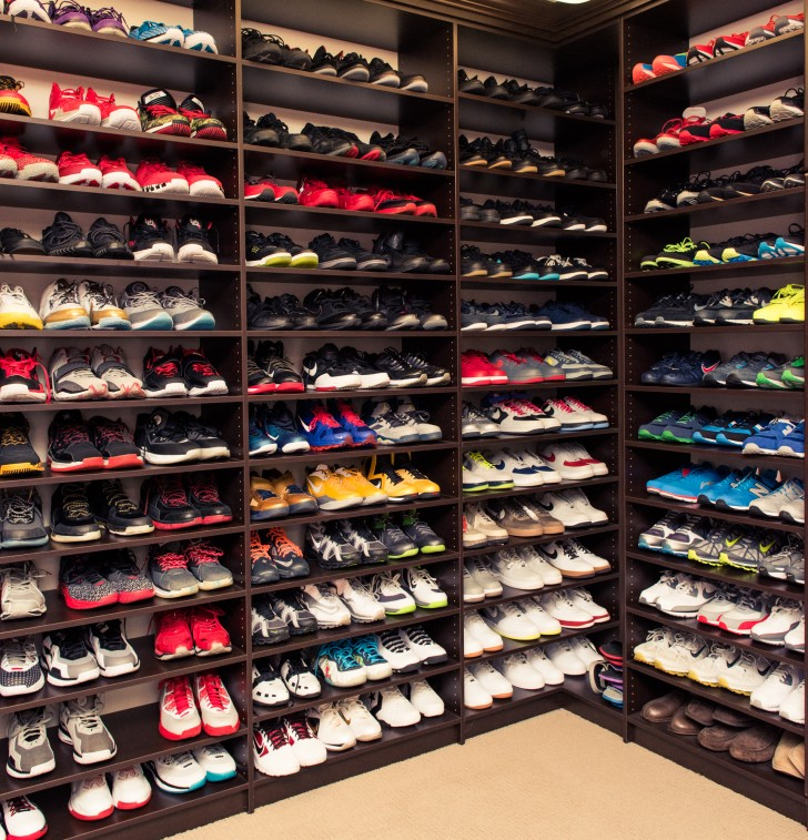 shoe closet udonis haslem and faith rein haslemu0027s closet... read more UBFNGFP