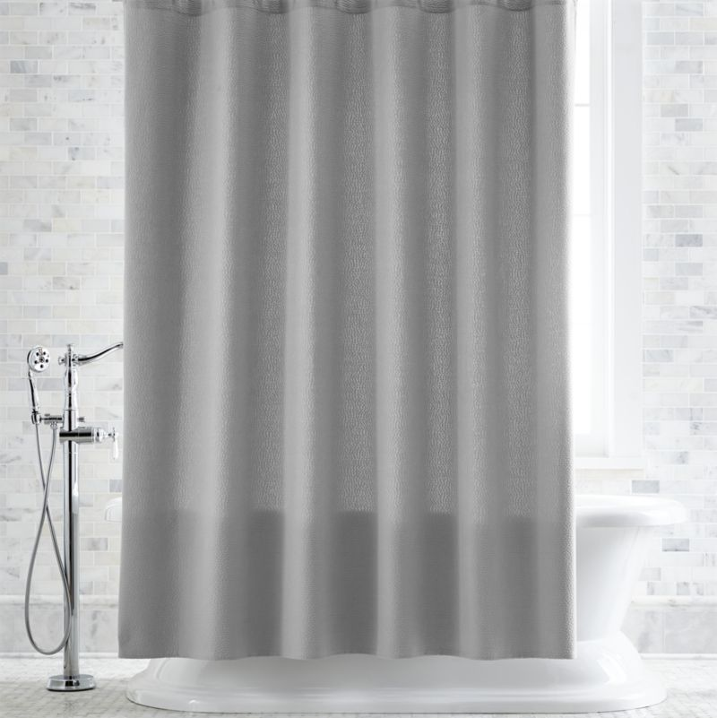shower curtain shower curtains, rings and liners | crate and barrel UAWREOO