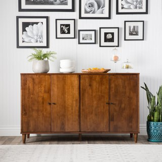 sideboard cabinet jasper laine vilas tobacco-finished 4-door dining buffet AZVUHBE