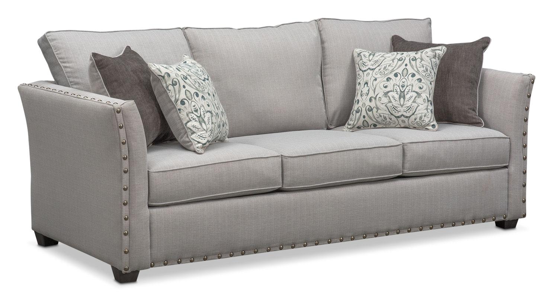 sleeper sofas mckenna queen innerspring sleeper sofa - pewter KUOHIRR
